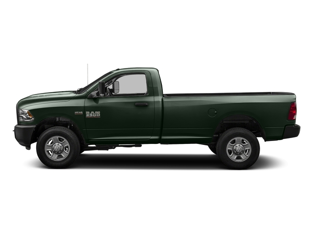 Black Forest Green Pearlcoat 2016 Ram Truck 3500 Pictures 3500 Regular Cab SLT 2WD photos side view