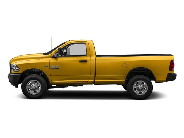 School Bus Yellow 2016 Ram Truck 3500 Pictures 3500 Regular Cab SLT 2WD photos side view
