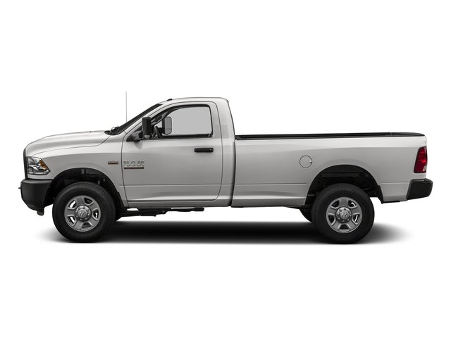 Bright Silver Metallic Clearcoat 2016 Ram Truck 3500 Pictures 3500 Regular Cab SLT 2WD photos side view