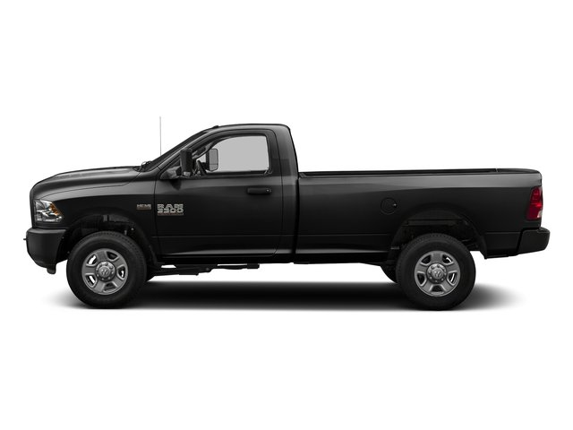 Black Clearcoat 2016 Ram Truck 3500 Pictures 3500 Regular Cab SLT 2WD photos side view