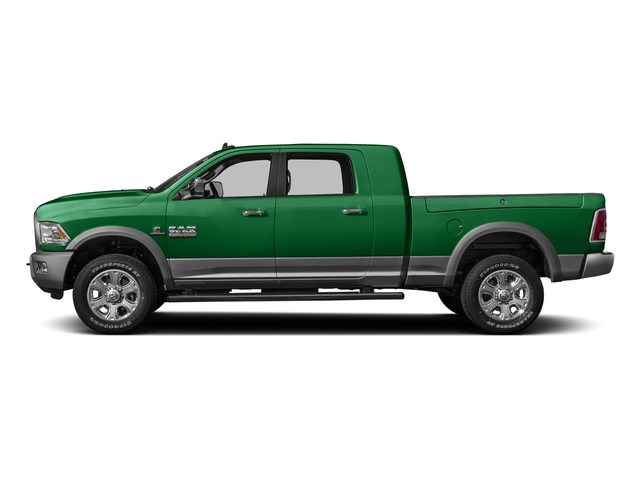Bright Green 2016 Ram Truck 3500 Pictures 3500 Mega Cab SLT 2WD photos side view
