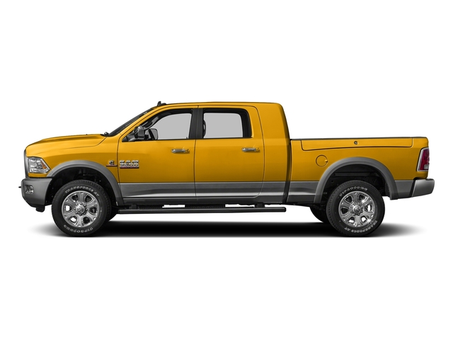 Construction Yellow 2016 Ram Truck 3500 Pictures 3500 Mega Cab SLT 2WD photos side view
