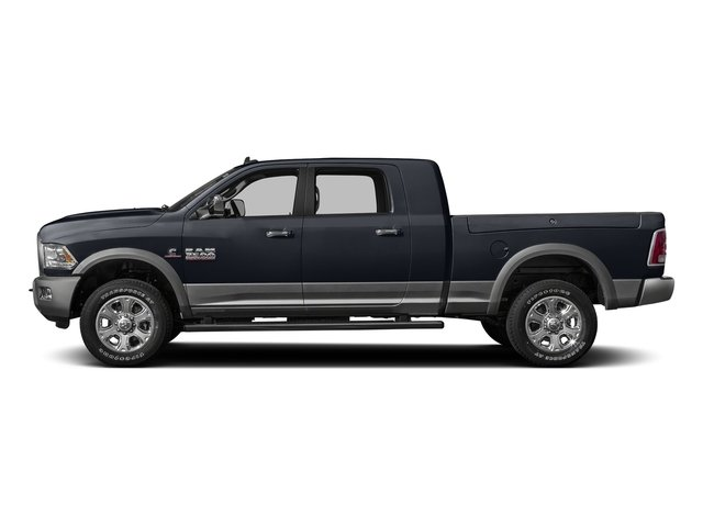Midnight Blue Pearlcoat 2016 Ram Truck 3500 Pictures 3500 Mega Cab SLT 2WD photos side view