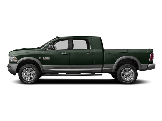 Black Forest Green Pearlcoat 2016 Ram Truck 3500 Pictures 3500 Mega Cab SLT 2WD photos side view
