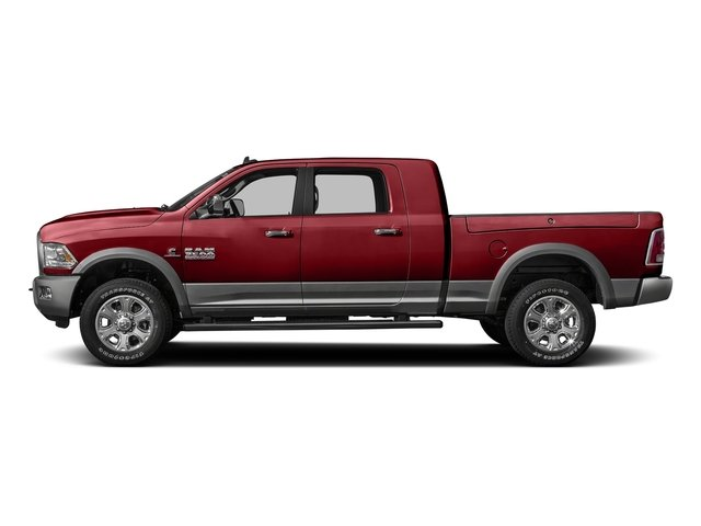 Flame Red Clearcoat 2016 Ram Truck 3500 Pictures 3500 Mega Cab SLT 2WD photos side view