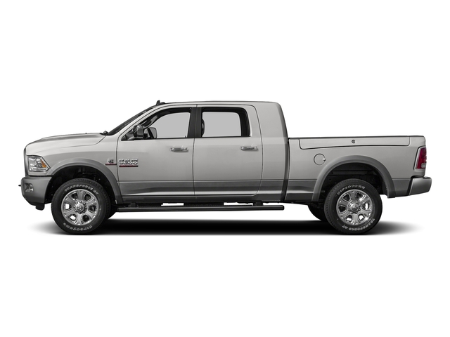 Bright Silver Metallic Clearcoat 2016 Ram Truck 3500 Pictures 3500 Mega Cab Laramie 2WD photos side view