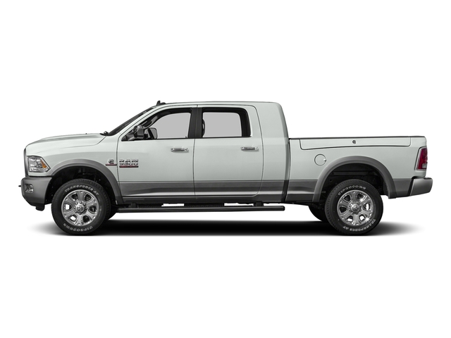 Bright White Clearcoat 2016 Ram Truck 3500 Pictures 3500 Mega Cab SLT 2WD photos side view