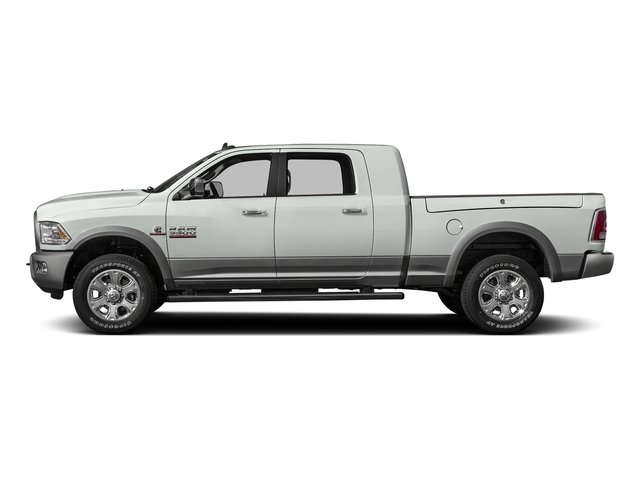 Bright White Clearcoat 2016 Ram Truck 3500 Pictures 3500 Mega Cab Laramie 2WD photos side view