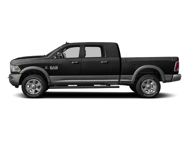 Black Clearcoat 2016 Ram Truck 3500 Pictures 3500 Mega Cab SLT 2WD photos side view