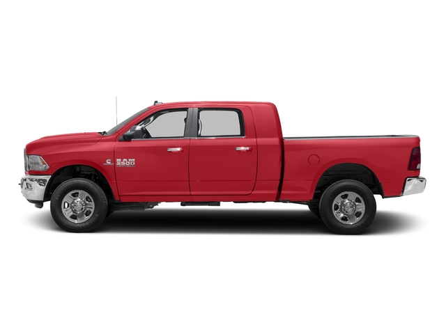 Bright Red 2016 Ram Truck 3500 Pictures 3500 Mega Cab SLT 4WD photos side view