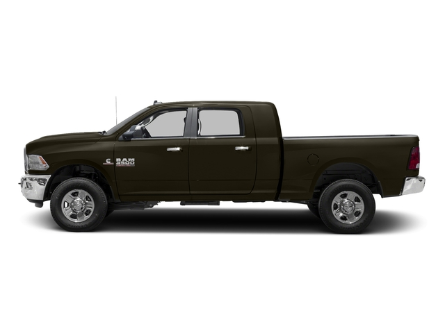 Dark Brown 2016 Ram Truck 3500 Pictures 3500 Mega Cab SLT 4WD photos side view