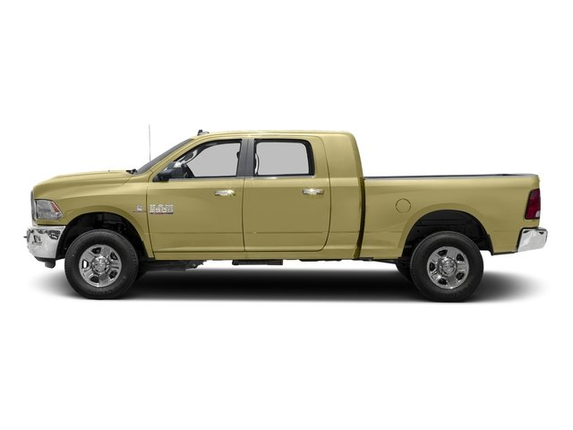 Light Cream 2016 Ram Truck 3500 Pictures 3500 Mega Cab SLT 4WD photos side view