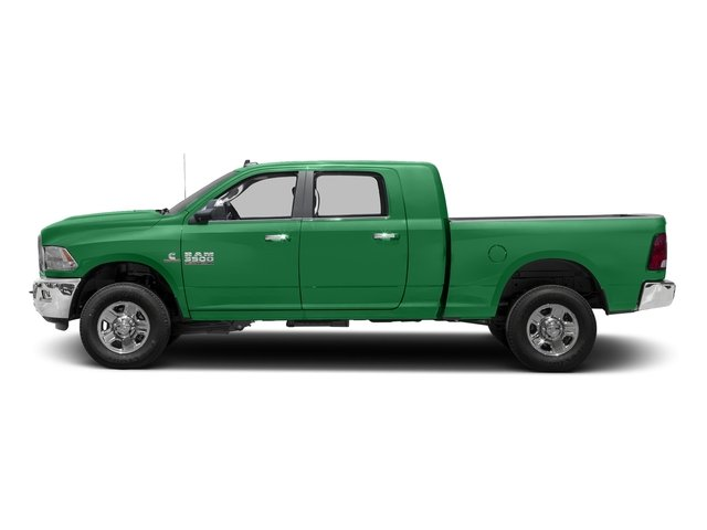 Bright Green 2016 Ram Truck 3500 Pictures 3500 Mega Cab SLT 4WD photos side view