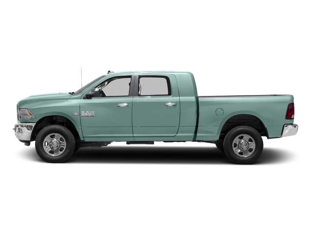 Light Green 2016 Ram Truck 3500 Pictures 3500 Mega Cab SLT 4WD photos side view