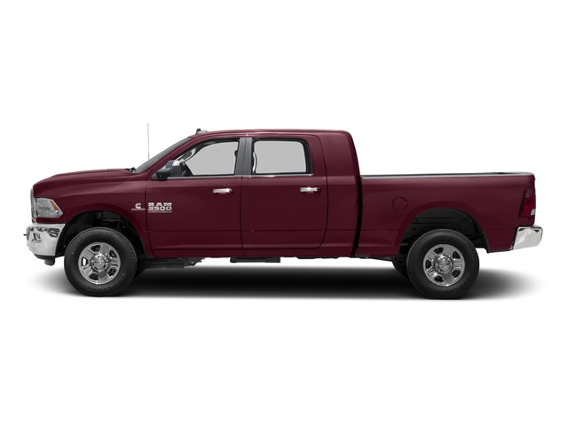 Delmonico Red Pearlcoat 2016 Ram Truck 3500 Pictures 3500 Mega Cab SLT 4WD photos side view