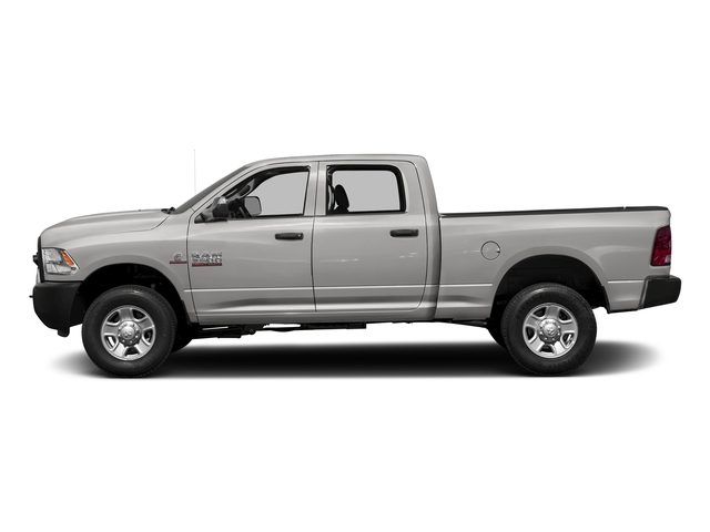 Bright Silver Metallic Clearcoat 2016 Ram Truck 3500 Pictures 3500 Crew Cab Tradesman 2WD photos side view