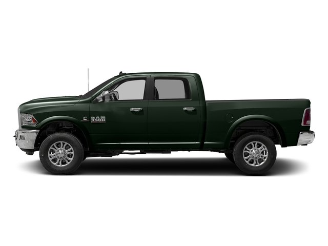 Black Forest Green Pearlcoat 2016 Ram Truck 3500 Pictures 3500 Crew Cab Laramie 4WD photos side view