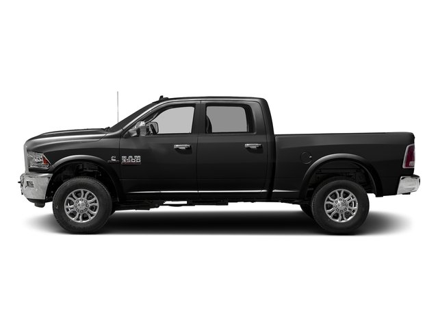 Brilliant Black Crystal Pearlcoat 2016 Ram Truck 3500 Pictures 3500 Crew Cab Laramie 2WD photos side view