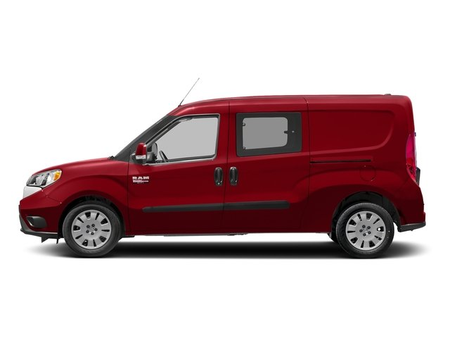 Bright Red 2016 Ram Truck ProMaster City Wagon Pictures ProMaster City Wagon Passenger Van SLT photos side view