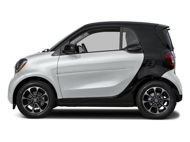 Moon White (matte) 2016 smart fortwo Pictures fortwo Coupe 2D Pure I3 photos side view