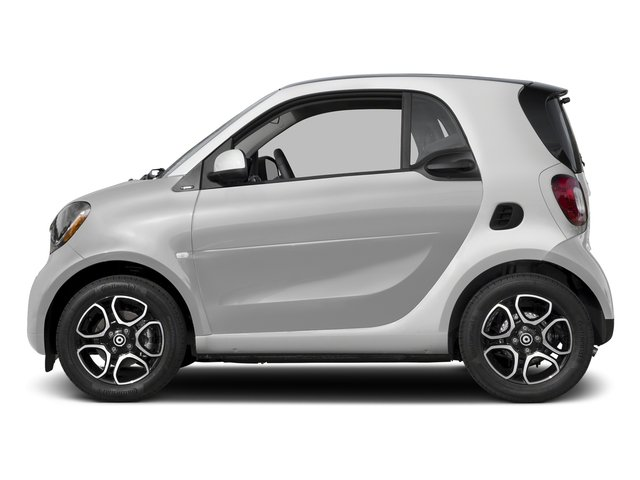 Cool Silver (metallic) 2016 smart fortwo Pictures fortwo Coupe 2D Proxy I3 photos side view