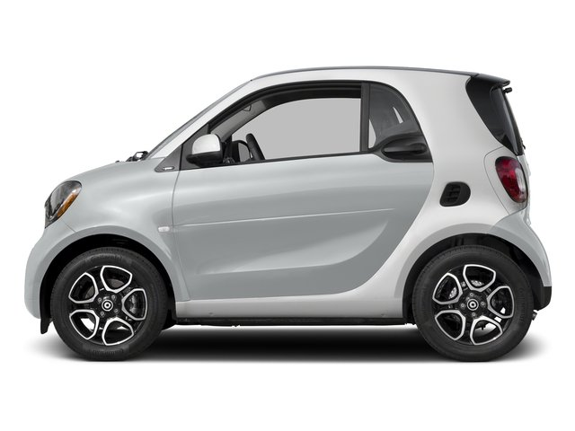 Moon White (matte) 2016 smart fortwo Pictures fortwo Coupe 2D Proxy I3 photos side view