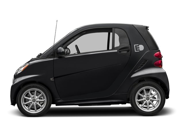 Deep Black 2016 smart fortwo electric drive Pictures fortwo electric drive Coupe 2D Electric photos side view