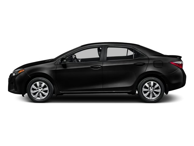 Black Sand Pearl 2016 Toyota Corolla Pictures Corolla Sedan 4D Special Edition I4 photos side view