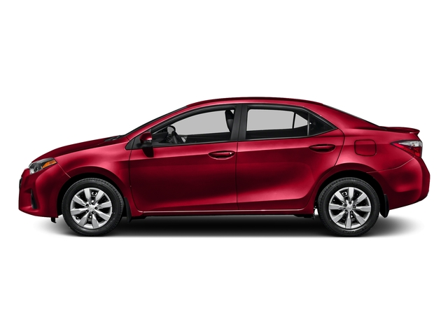 Absolutely Red 2016 Toyota Corolla Pictures Corolla Sedan 4D Special Edition I4 photos side view