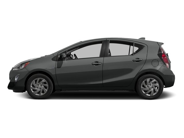 Magnetic Gray Metallic 2016 Toyota Prius c Pictures Prius c Liftback 5D c I4 Hybrid photos side view