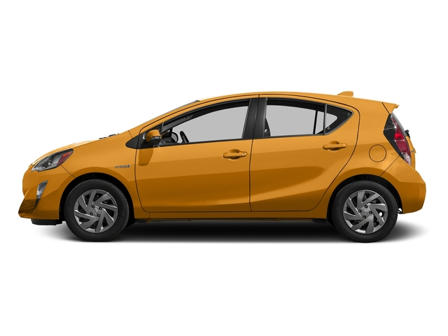 Tangerine Splash Pearl 2016 Toyota Prius c Pictures Prius c Liftback 5D c I4 Hybrid photos side view