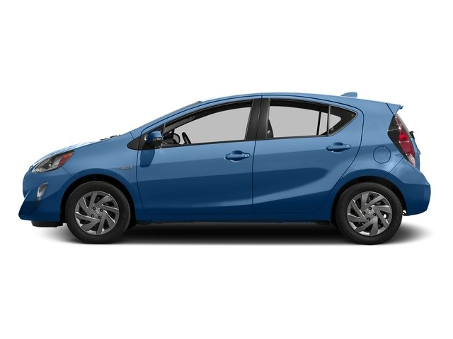 Blue Streak Metallic 2016 Toyota Prius c Pictures Prius c Liftback 5D c I4 Hybrid photos side view