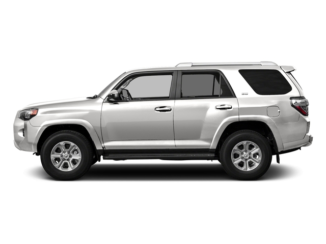 Super White 2016 Toyota 4Runner Pictures 4Runner Utility 4D SR5 2WD V6 photos side view