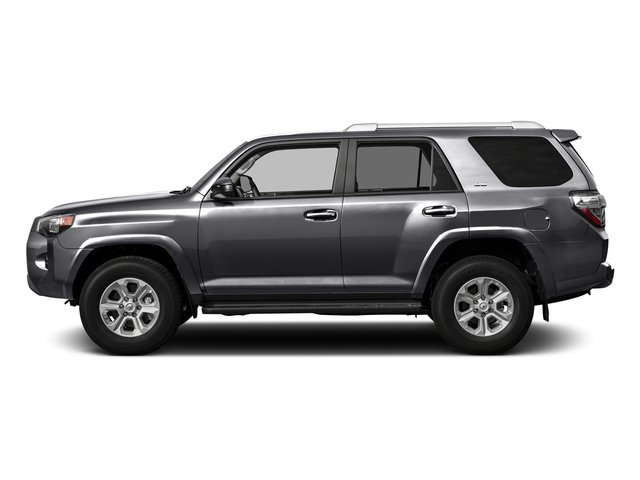 Magnetic Gray Metallic 2016 Toyota 4Runner Pictures 4Runner Utility 4D SR5 2WD V6 photos side view