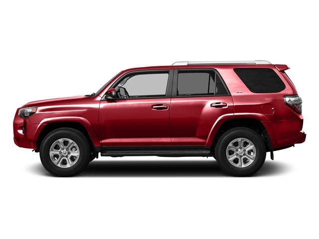 Barcelona Red Metallic 2016 Toyota 4Runner Pictures 4Runner Utility 4D SR5 2WD V6 photos side view
