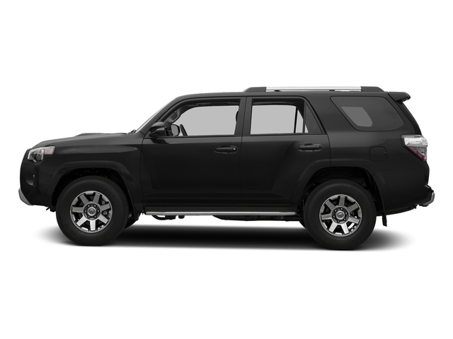 Midnight Black Metallic 2016 Toyota 4Runner Pictures 4Runner Utility 4D Trail Edition 4WD V6 photos side view