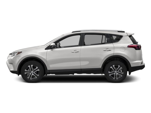 Super White 2016 Toyota RAV4 Pictures RAV4 Utility 4D LE 2WD I4 photos side view