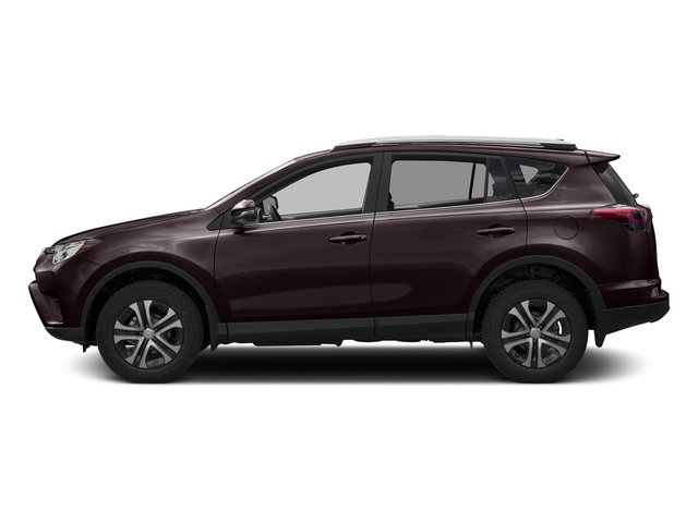 Black Currant Metallic 2016 Toyota RAV4 Pictures RAV4 Utility 4D LE 2WD I4 photos side view