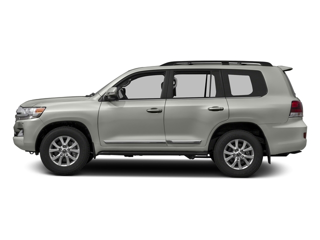 Classic Silver Metallic 2016 Toyota Land Cruiser Pictures Land Cruiser Utility 4D 4WD V8 photos side view
