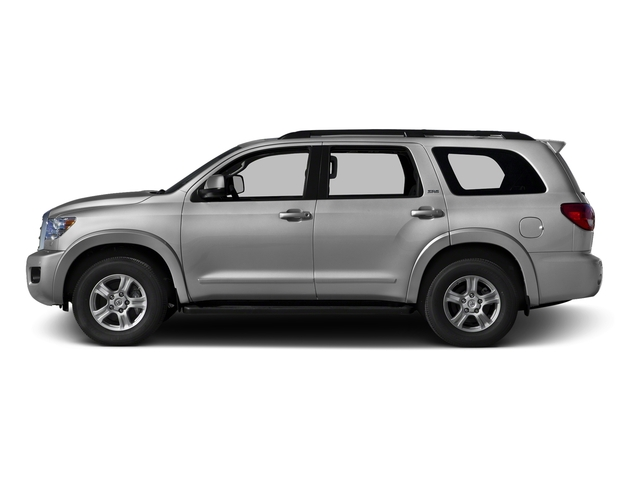 Silver Sky Metallic 2016 Toyota Sequoia Pictures Sequoia Utility 4D SR5 2WD V8 photos side view