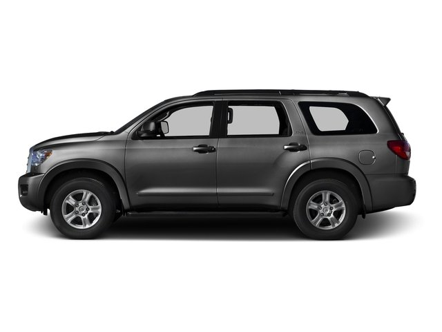Magnetic Gray Metallic 2016 Toyota Sequoia Pictures Sequoia Utility 4D SR5 2WD V8 photos side view