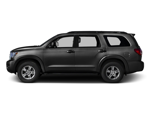 Black 2016 Toyota Sequoia Pictures Sequoia Utility 4D SR5 2WD V8 photos side view