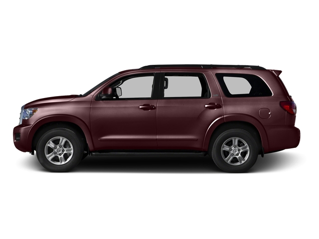 Sizzling Crimson Mica 2016 Toyota Sequoia Pictures Sequoia Utility 4D SR5 2WD V8 photos side view