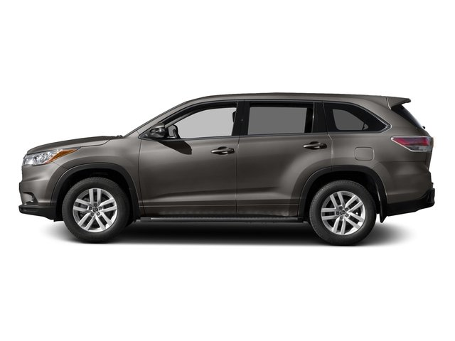Predawn Gray Mica 2016 Toyota Highlander Pictures Highlander Utility 4D LE 2WD I4 photos side view