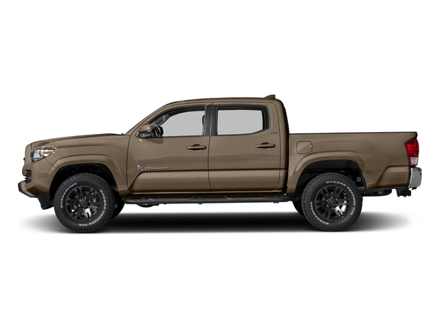 Quicksand 2016 Toyota Tacoma Pictures Tacoma SR5 Crew Cab 4WD V6 photos side view