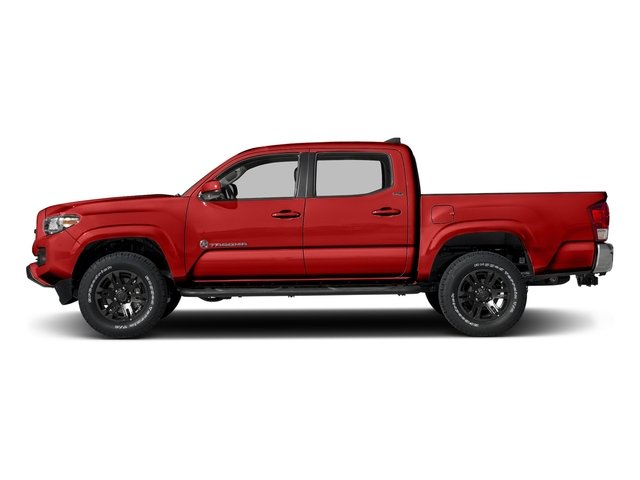 Inferno 2016 Toyota Tacoma Pictures Tacoma SR5 Crew Cab 4WD V6 photos side view