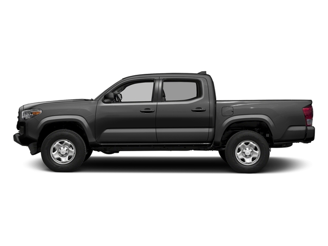 Magnetic Gray Metallic 2016 Toyota Tacoma Pictures Tacoma SR Crew Cab 4WD V6 photos side view