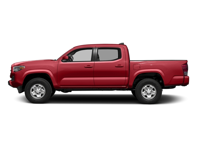 Barcelona Red Metallic 2016 Toyota Tacoma Pictures Tacoma SR Crew Cab 4WD V6 photos side view
