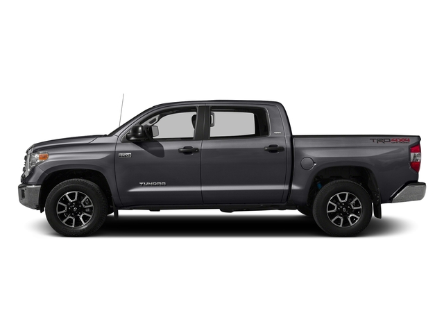 Magnetic Gray Metallic 2016 Toyota Tundra 2WD Truck Pictures Tundra 2WD Truck SR5 CrewMax 2WD photos side view