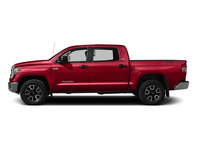 Radiant Red 2016 Toyota Tundra 2WD Truck Pictures Tundra 2WD Truck SR5 CrewMax 2WD photos side view